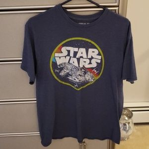 Star Wars throwback millennium Falcon  T-shirt